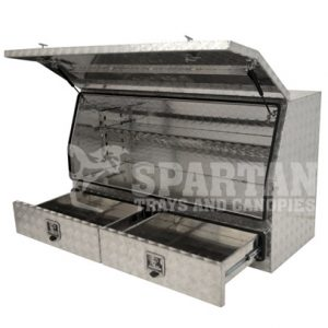 3/4 Opening-2 Draws Toolbox 1450x600x850