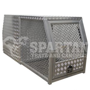 Cross Deck Dog Cage/Box Combo
