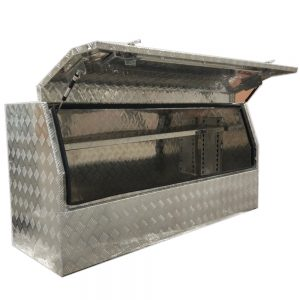 3/4 Side Opening Ute Toolbox -With Shelf